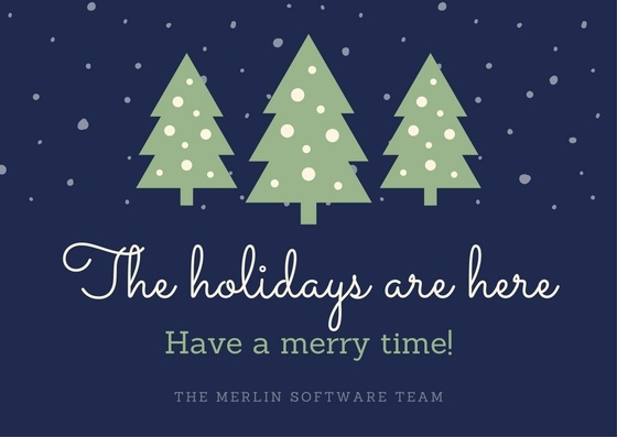 Holiday Season Best Wishes Merlin Software