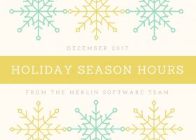 Holiday Season Hours Merlin Software 2017