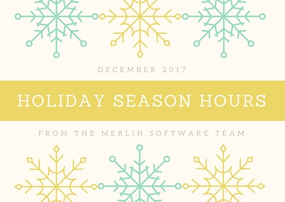 Holiday Season Hours 2017