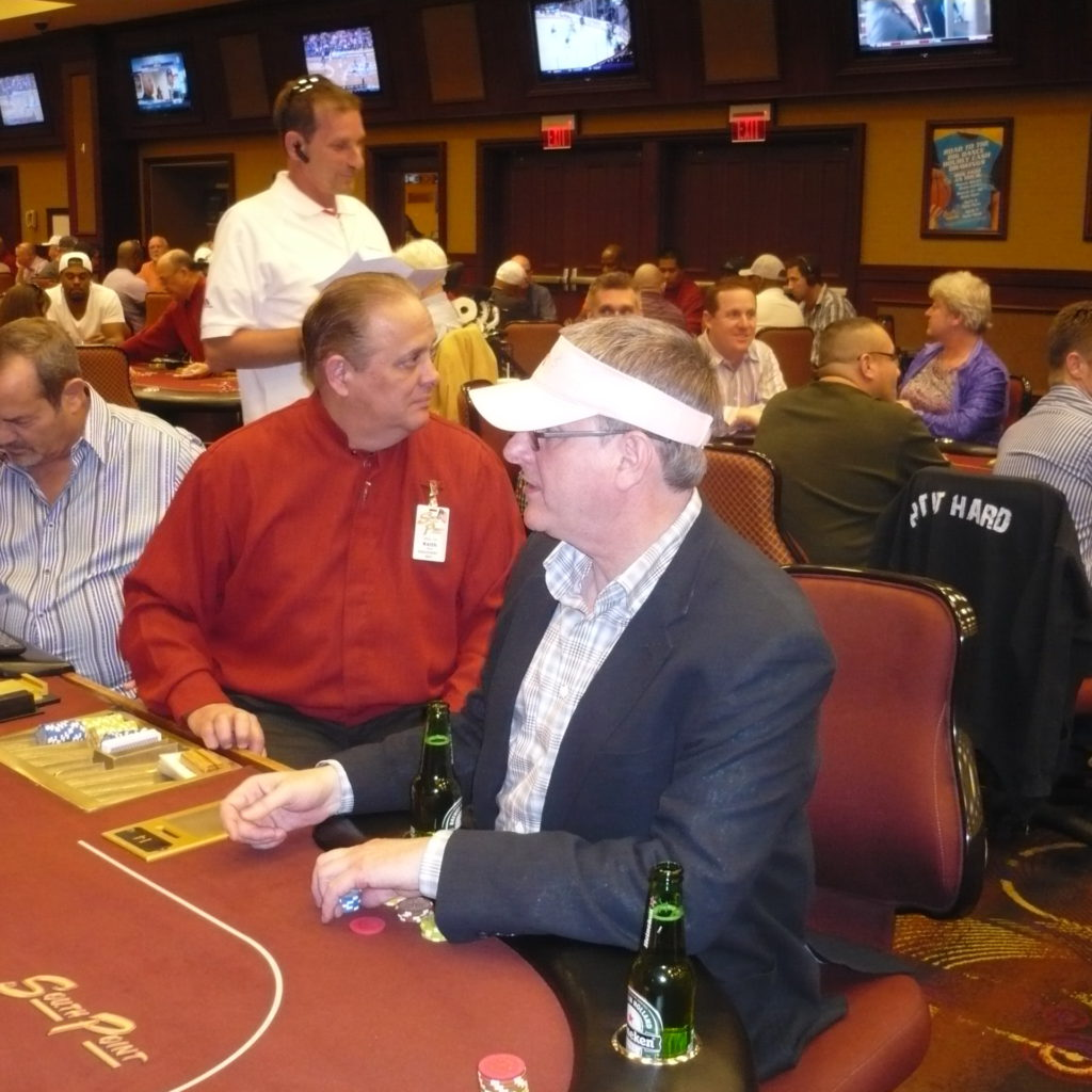 Mike Ashton Getting Ready To Lose At Poker