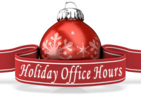 Seasonal Office Hours 2015